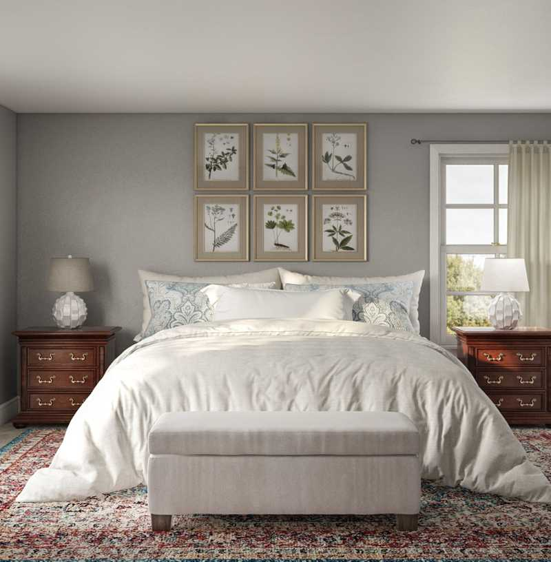 Classic Bedroom Design by Havenly Interior Designer Sara