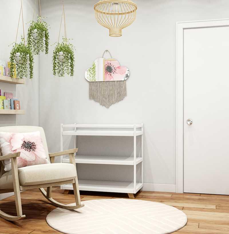 Modern, Midcentury Modern, Scandinavian Nursery Design by Havenly Interior Designer Kathy