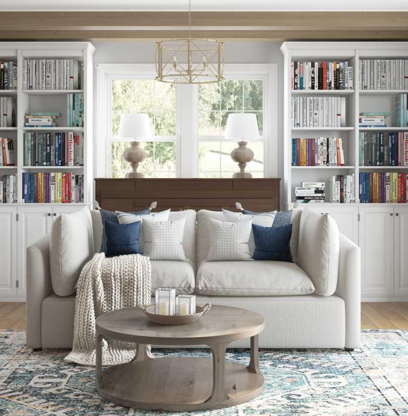 Living Room Design by Havenly Interior Designer Rebecca