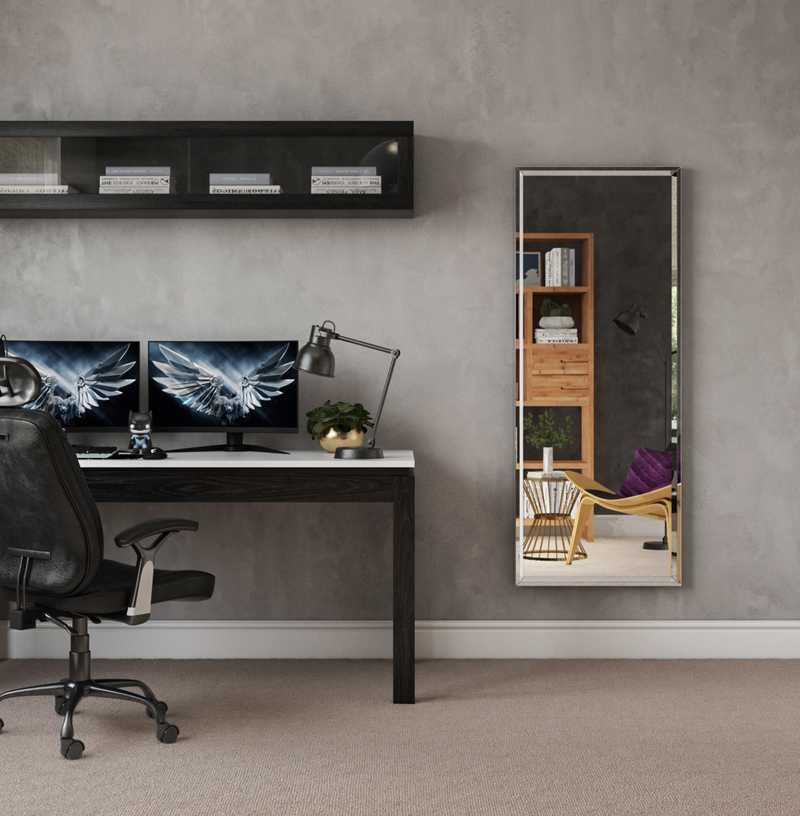Modern Office Design by Havenly Interior Designer Francisco