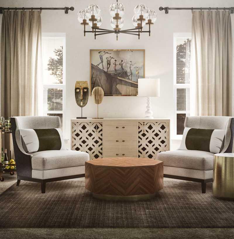 Glam, Transitional Other Design by Havenly Interior Designer Mariela