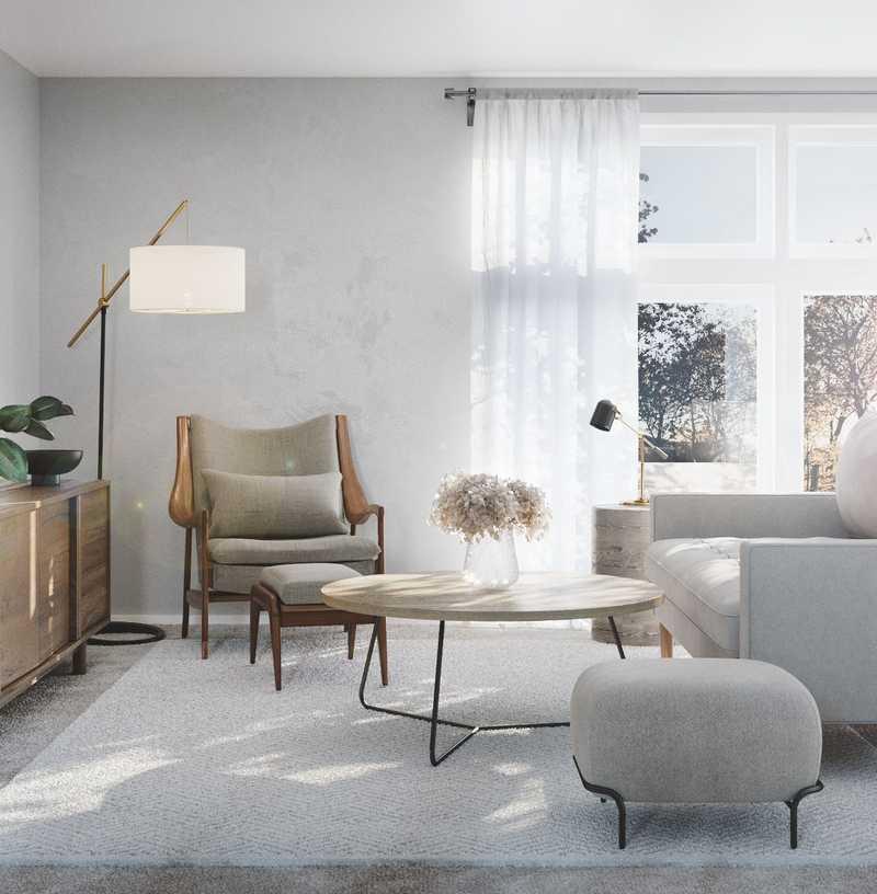 Contemporary, Modern, Minimal Office Design by Havenly Interior Designer Gonzalo