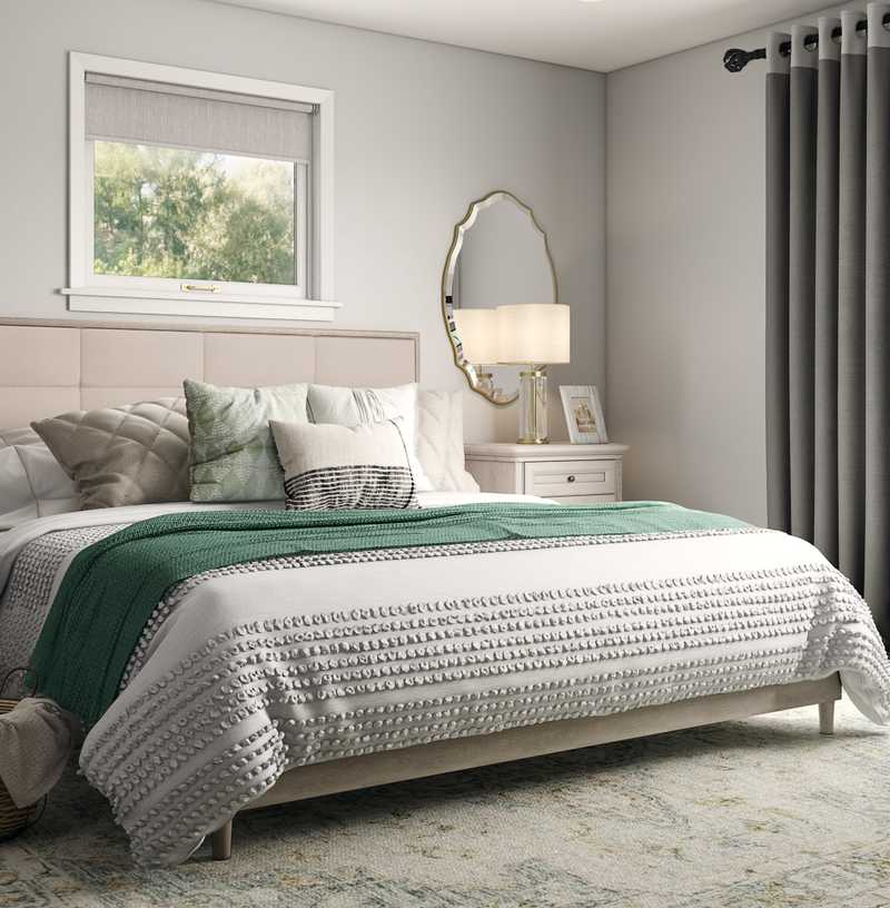 Classic, Farmhouse, Transitional Bedroom Design by Havenly Interior Designer Emilee