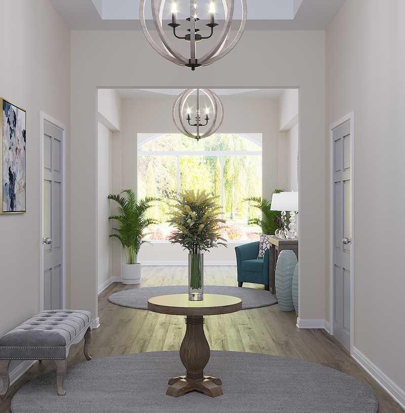Glam, Farmhouse Other Design by Havenly Interior Designer Merna