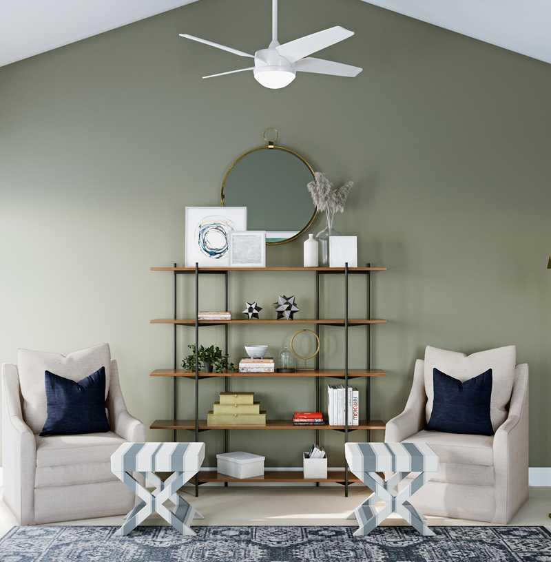 Modern Bedroom Design by Havenly Interior Designer Tracie