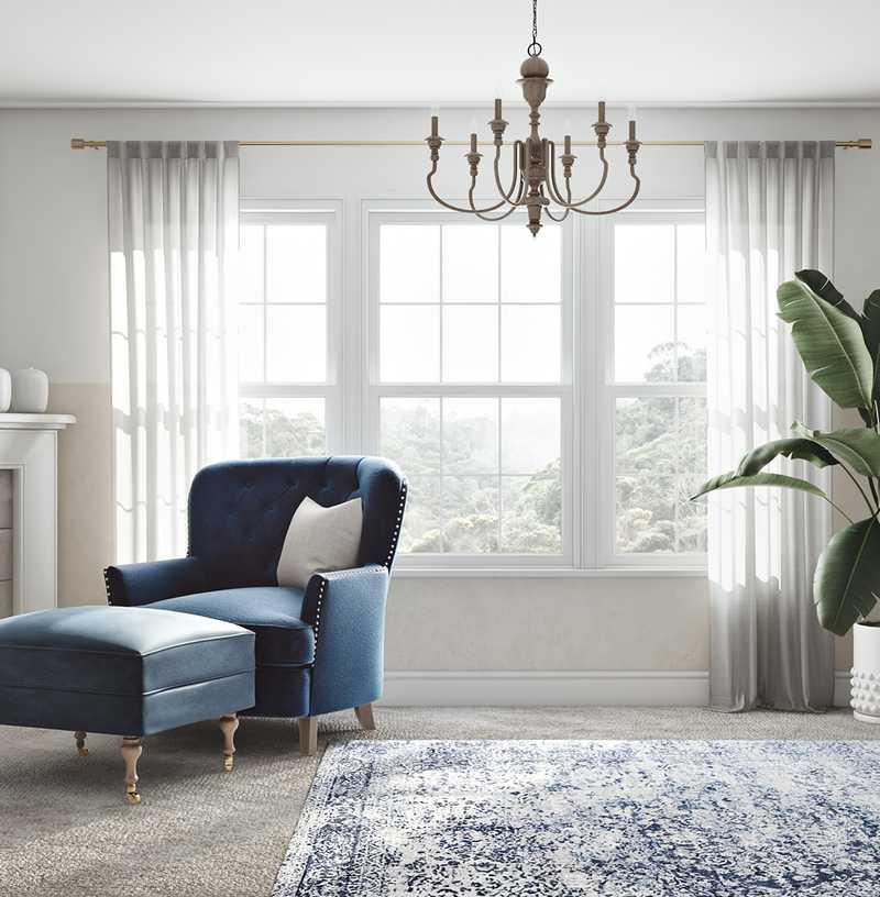 Coastal Bedroom Design by Havenly Interior Designer Ghianella