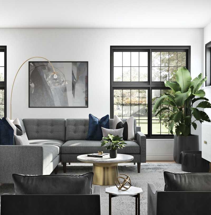 Modern, Glam, Industrial, Minimal Other Design by Havenly Interior Designer Karen