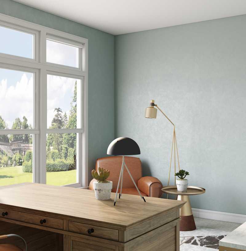 Modern, Industrial Dining Room Design by Havenly Interior Designer Junya