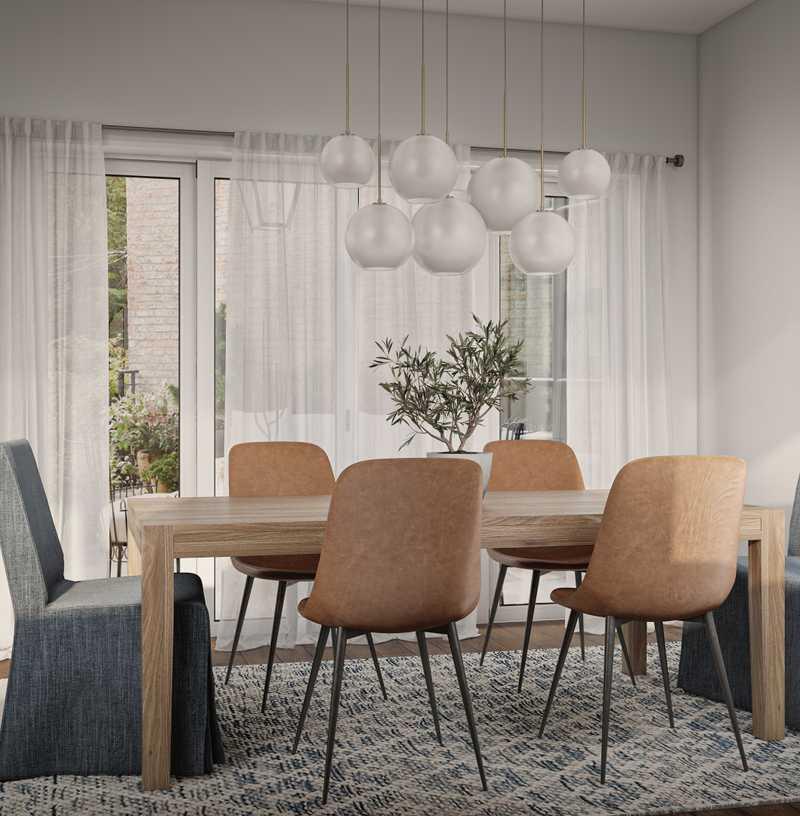 Contemporary, Modern, Coastal, Glam Bedroom Design by Havenly Interior Designer Laura
