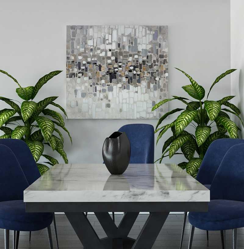 Glam Dining Room Design by Havenly Interior Designer Danielle
