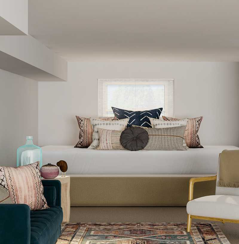 Contemporary, Bohemian, Global Other Design by Havenly Interior Designer Elyse