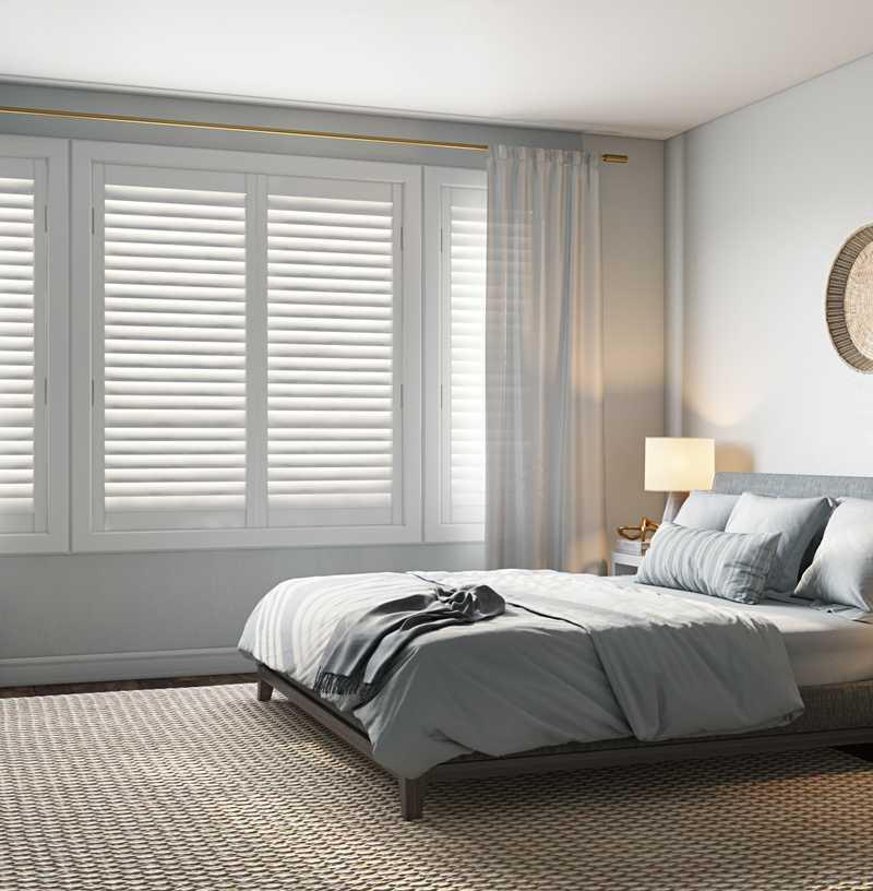 Modern, Coastal, Scandinavian Bedroom Design by Havenly Interior Designer Allie