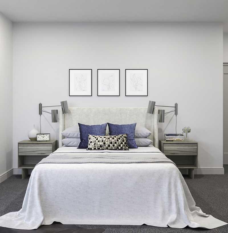 Classic, Bohemian Bedroom Design by Havenly Interior Designer Alexis