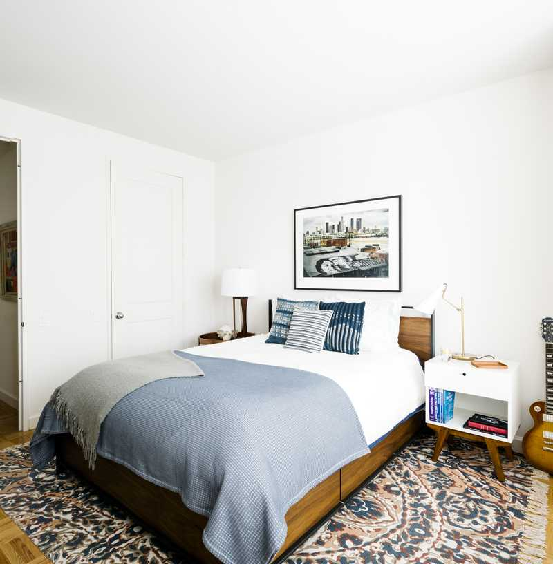 Contemporary Bedroom Design by Havenly Interior Designer Joanna