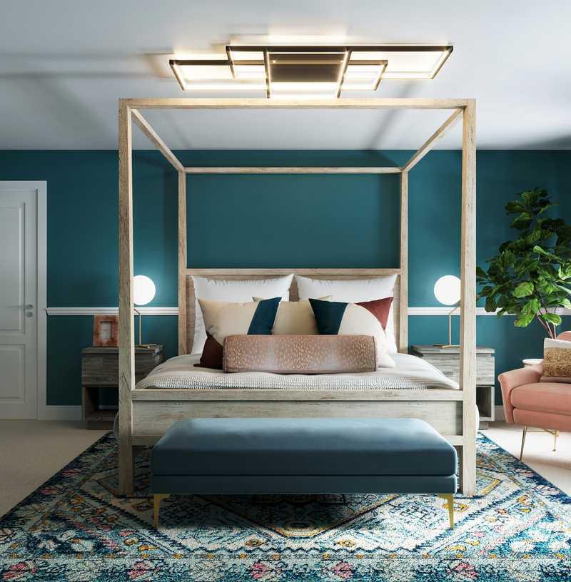 Glam Bedroom Design by Havenly Interior Designer Dani