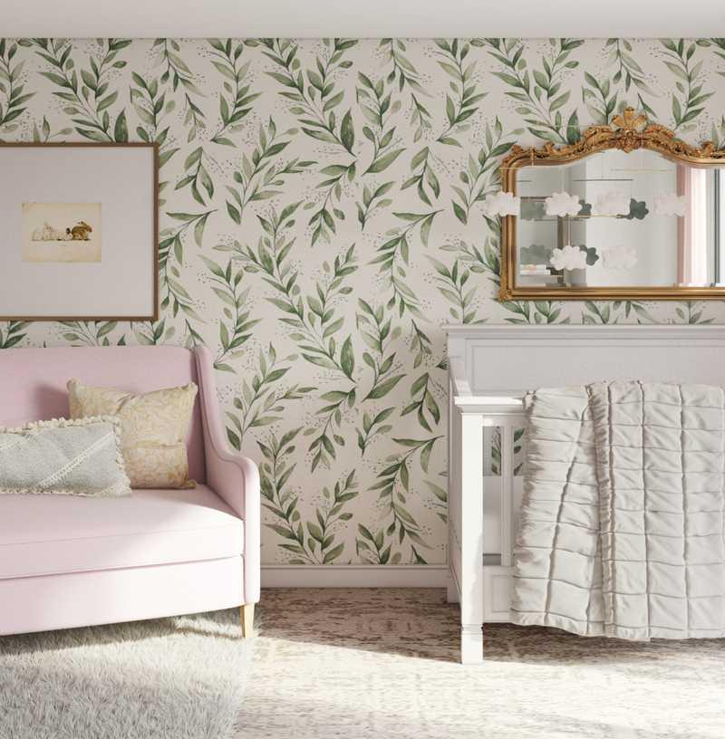 Modern, Classic Nursery Design by Havenly Interior Designer Matthew