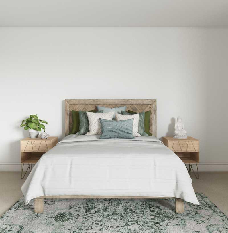 Modern, Bohemian, Global Bedroom Design by Havenly Interior Designer Hayley
