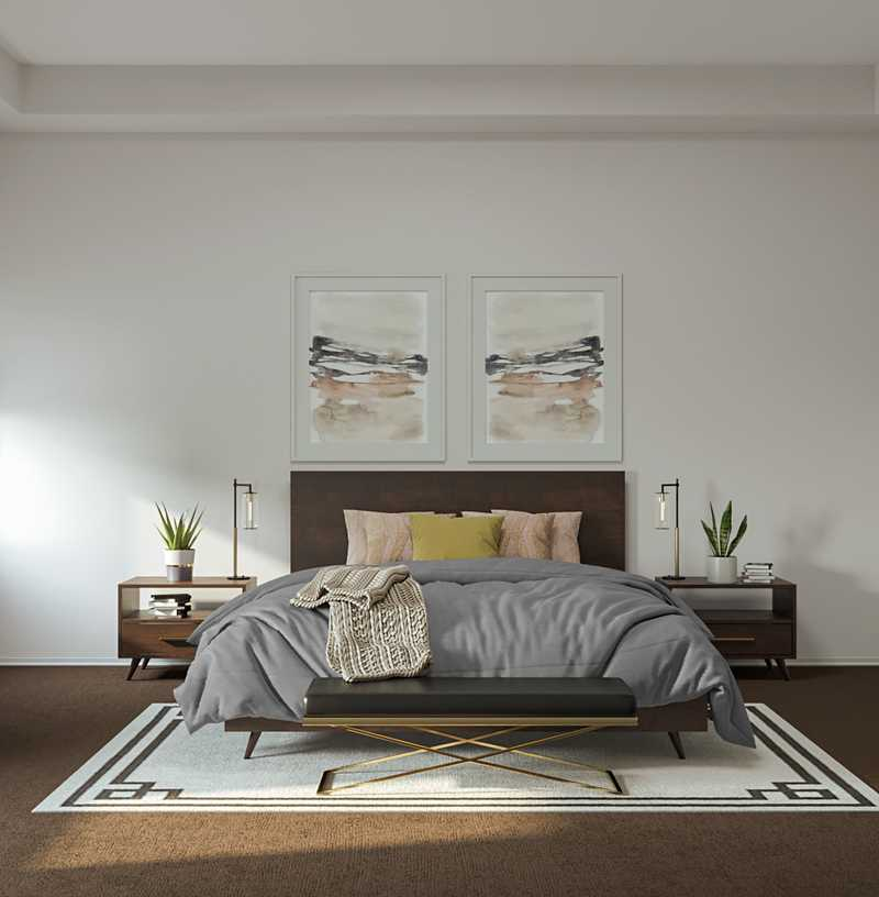 Contemporary, Modern Bedroom Design by Havenly Interior Designer Fiona