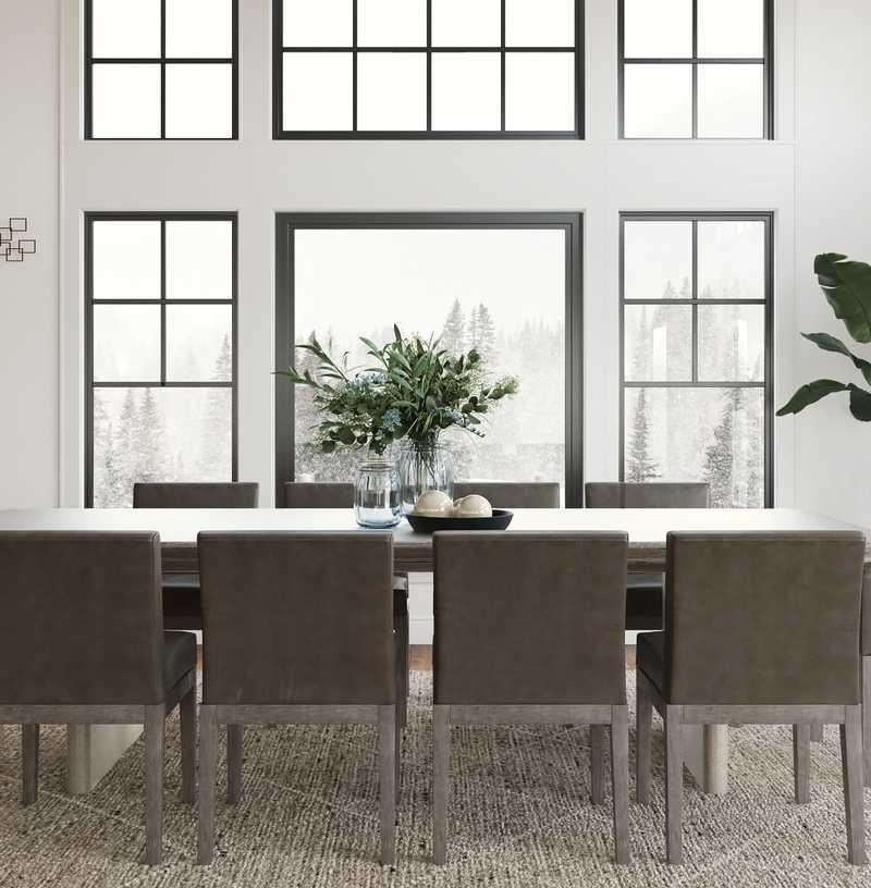 Contemporary, Modern, Classic, Classic Contemporary Dining Room Design by Havenly Interior Designer Karen