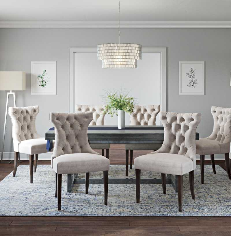Classic, Traditional Dining Room Design by Havenly Interior Designer Hayley
