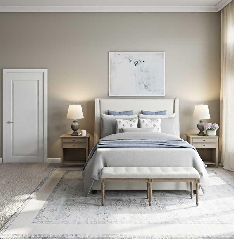 Farmhouse, Rustic Bedroom Design by Havenly Interior Designer Stacy