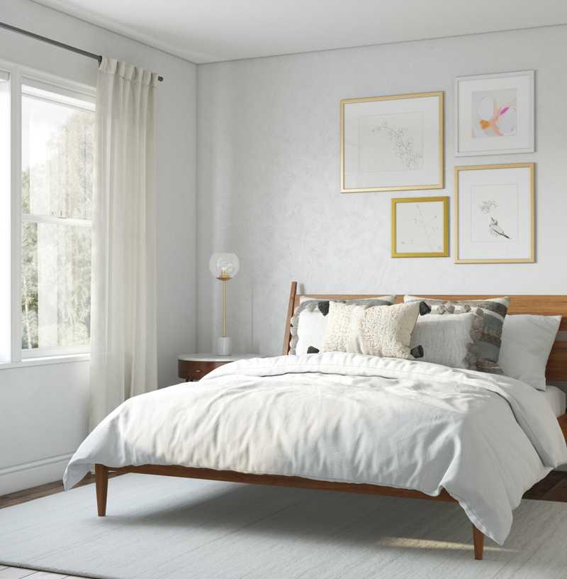 Bohemian, Classic Contemporary, Scandinavian Bedroom Design by Havenly Interior Designer Logan