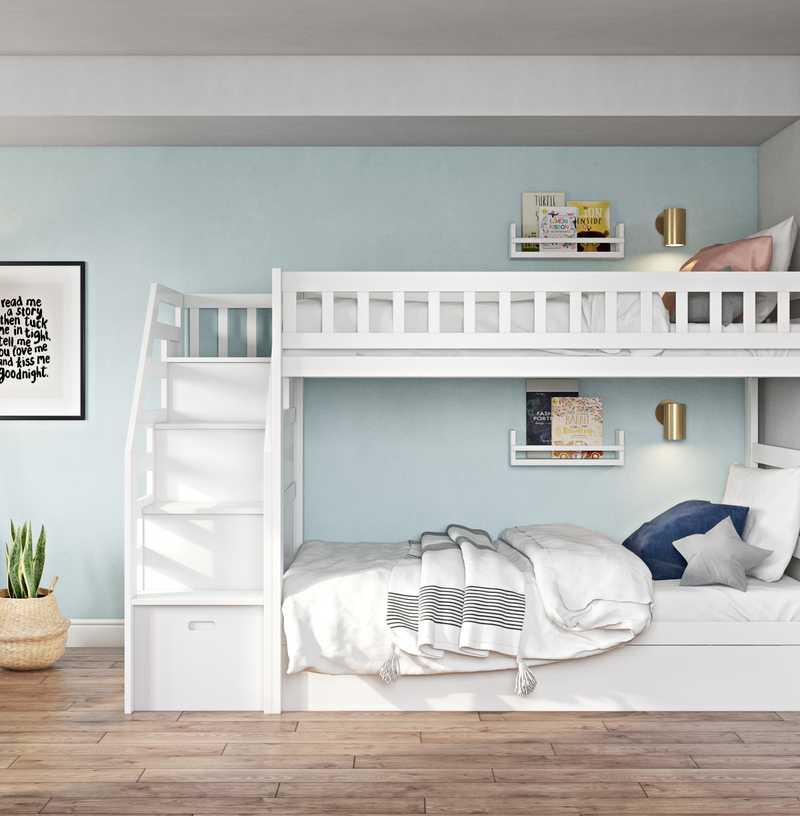 Contemporary, Eclectic, Bohemian Bedroom Design by Havenly Interior Designer Julieta
