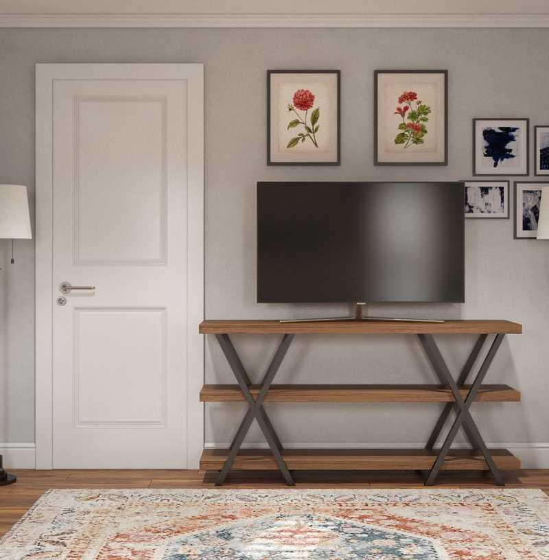 Coastal, Farmhouse Bedroom Design by Havenly Interior Designer Shelby