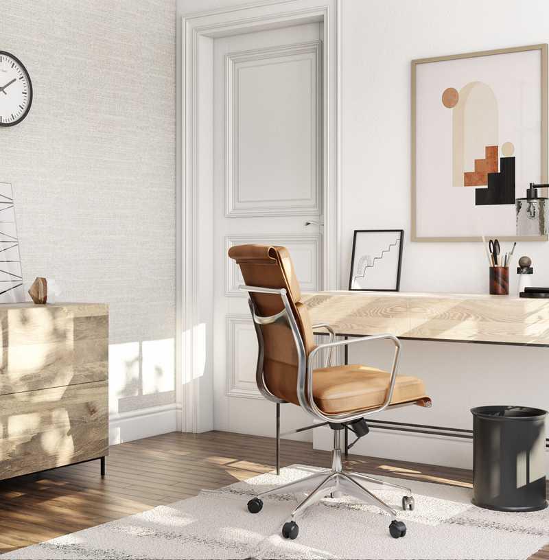 Bohemian, Scandinavian Living Room Design by Havenly Interior Designer Astrid