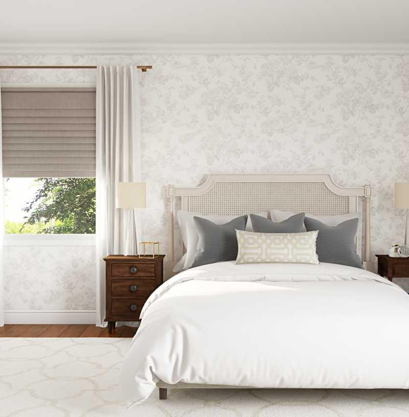 Classic, Bohemian, Minimal Bedroom Design by Havenly Interior Designer Shannon