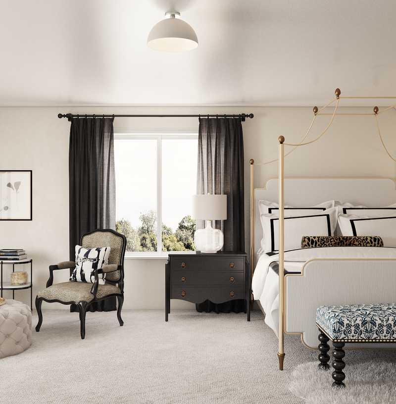 Modern, Traditional, Transitional Bedroom Design by Havenly Interior Designer Monica