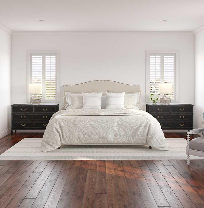 Classic, Coastal, Farmhouse, Transitional Bedroom Design by Havenly Interior Designer Britney