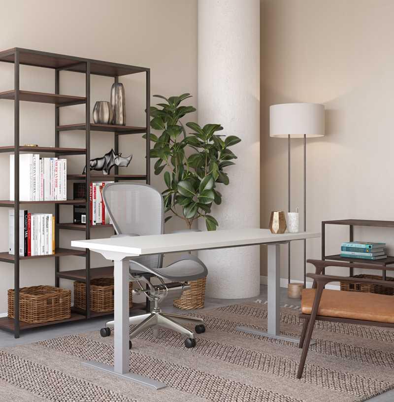 Office Design by Havenly Interior Designer Kate