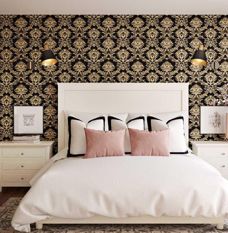 Modern, Glam Bedroom Design by Havenly Interior Designer Autumn