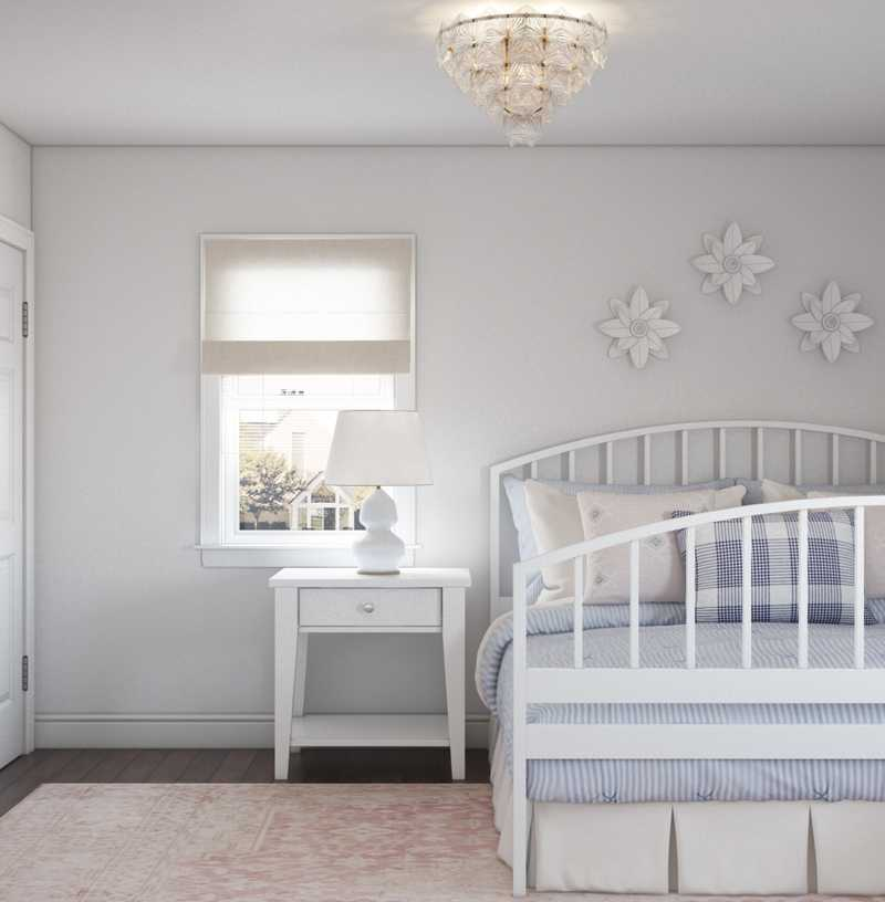 Glam, Preppy Nursery Design by Havenly Interior Designer Sara
