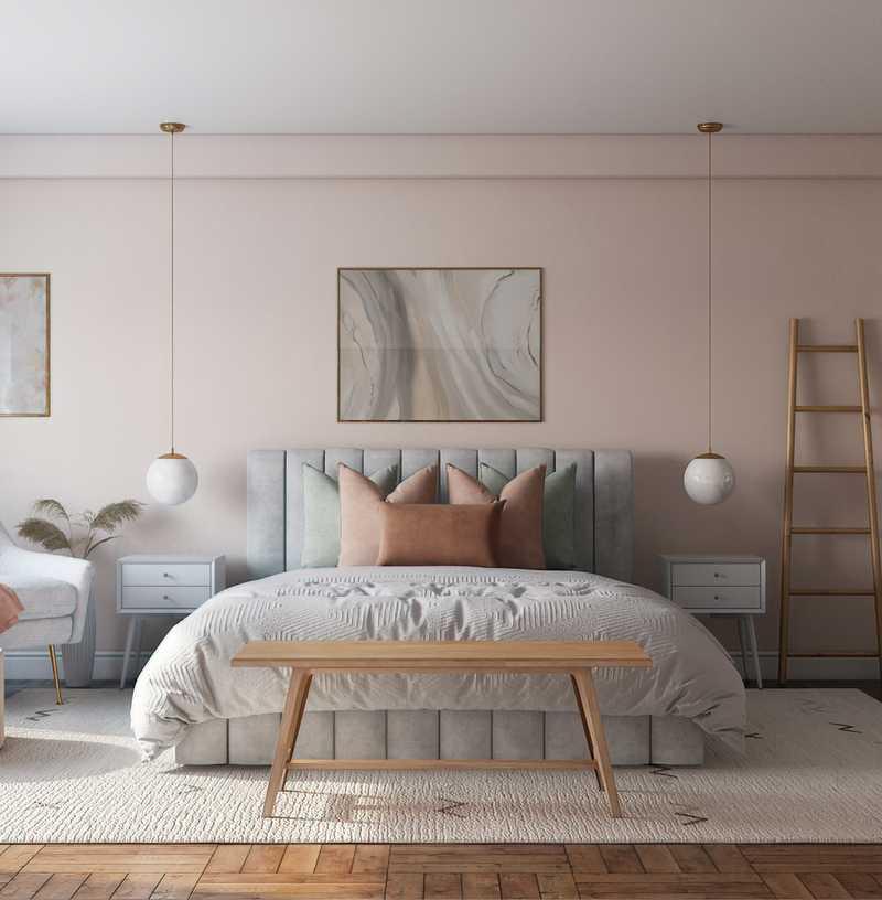 Modern Bedroom Design by Havenly Interior Designer Karen