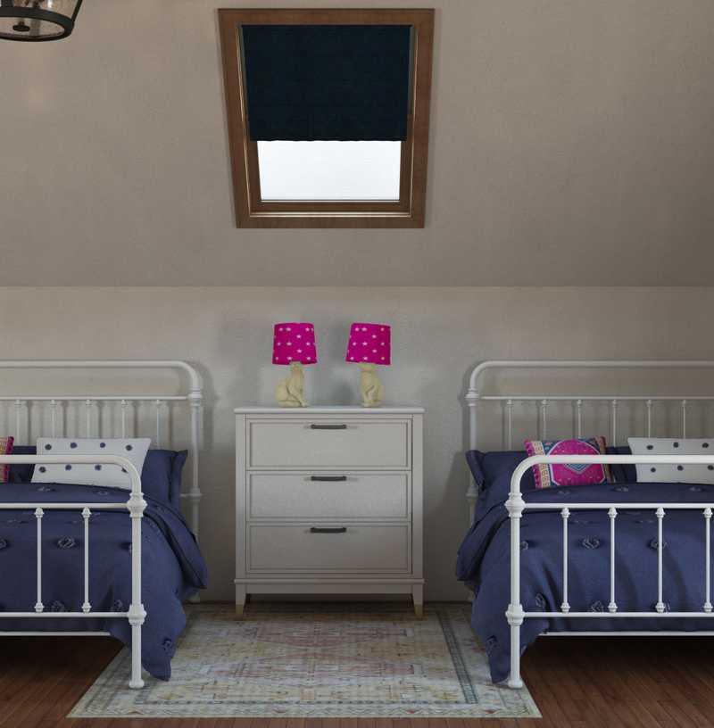 Modern, Bohemian, Farmhouse, Midcentury Modern Bedroom Design by Havenly Interior Designer Lissette