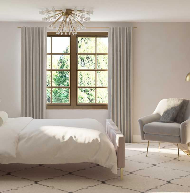 Modern, Glam Bedroom Design by Havenly Interior Designer Emily