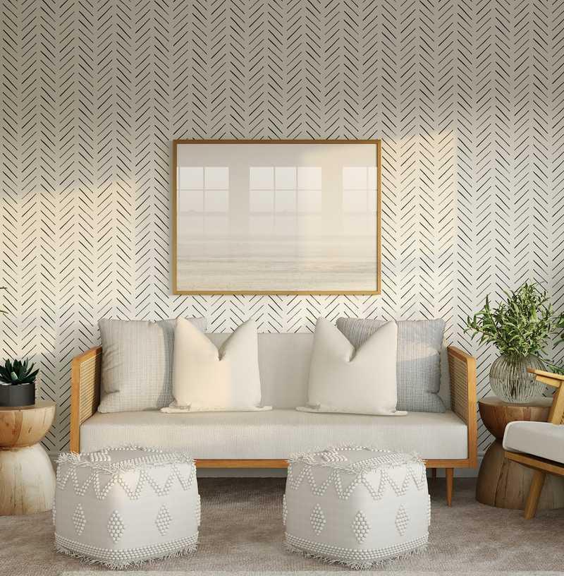 Classic, Coastal Bedroom Design by Havenly Interior Designer Austin