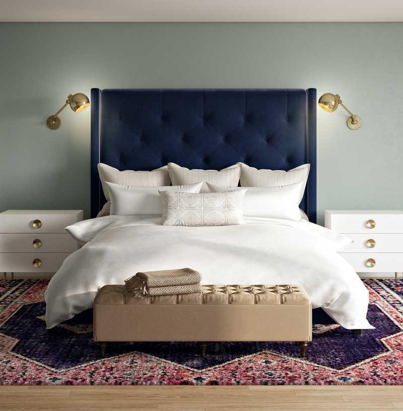 Contemporary Bedroom Design by Havenly Interior Designer Hannah