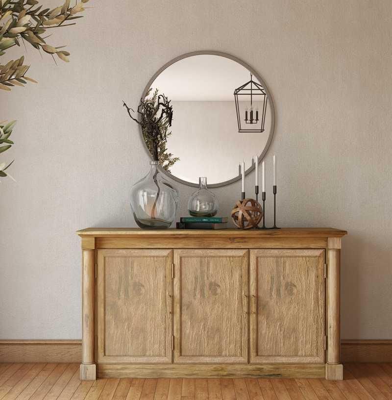 Farmhouse Living Room Design by Havenly Interior Designer Shirley