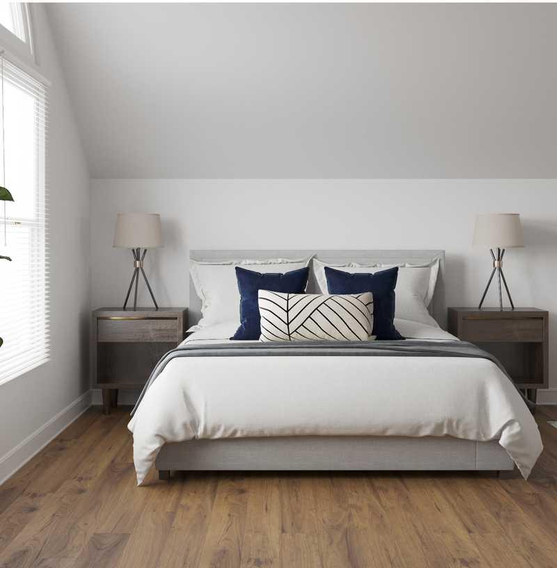 Modern Living Room Design by Havenly Interior Designer Cathrine