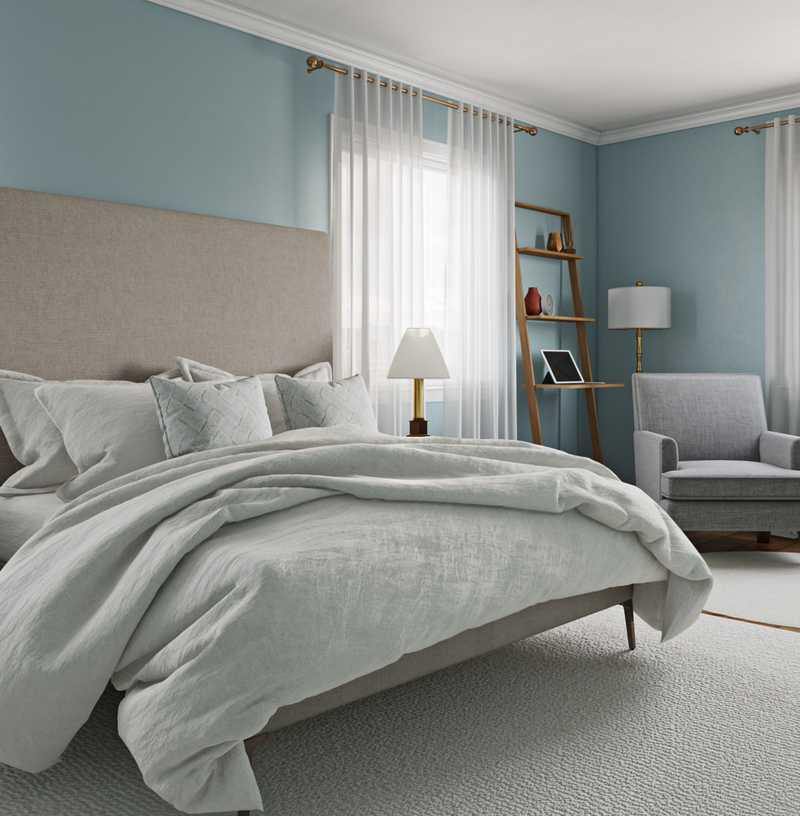 Glam, Traditional, Farmhouse Bedroom Design by Havenly Interior Designer Breanna
