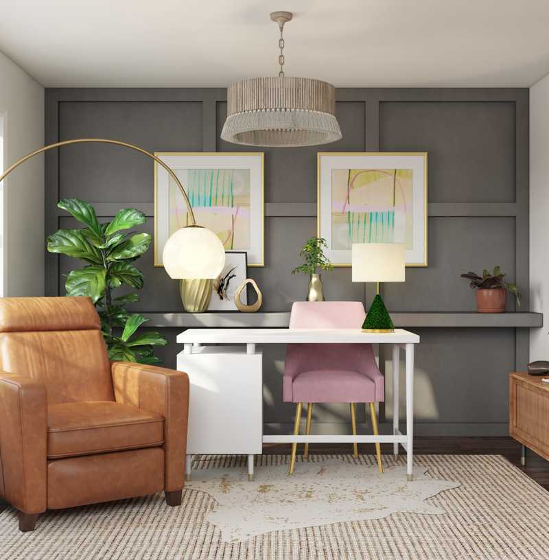 Office Design by Havenly Interior Designer Drew