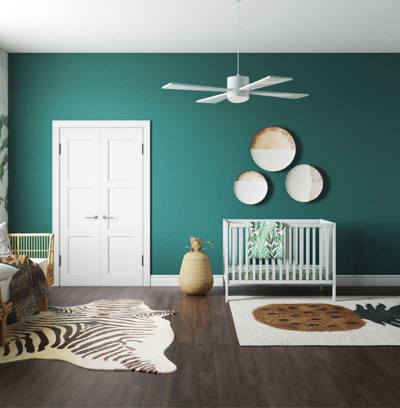 Modern, Eclectic, Bohemian, Global Nursery Design by Havenly Interior Designer Sierra