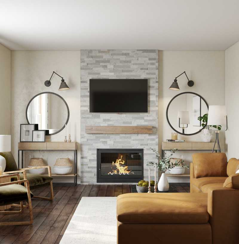 Contemporary, Bohemian, Midcentury Modern Other Design by Havenly Interior Designer Lilly