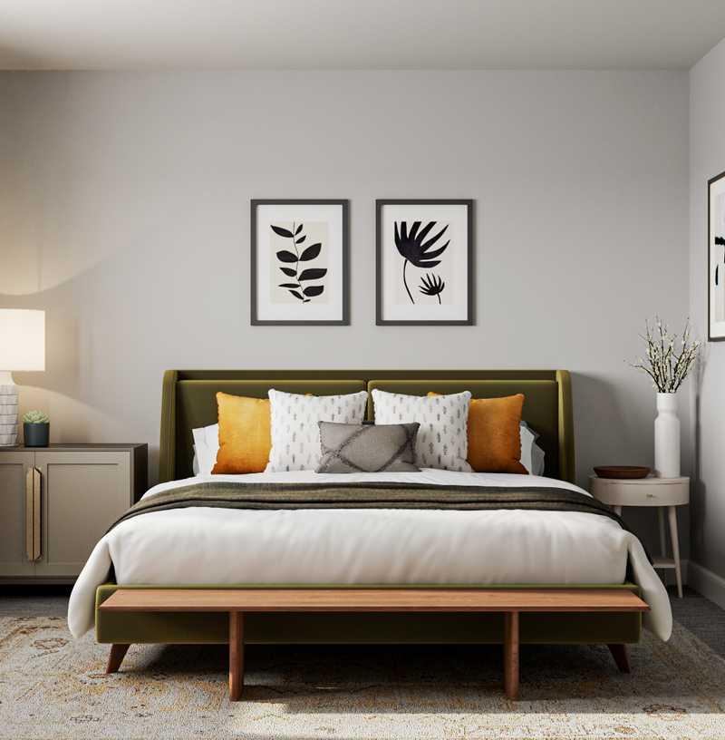 Classic, Glam, Transitional Bedroom Design by Havenly Interior Designer Vana