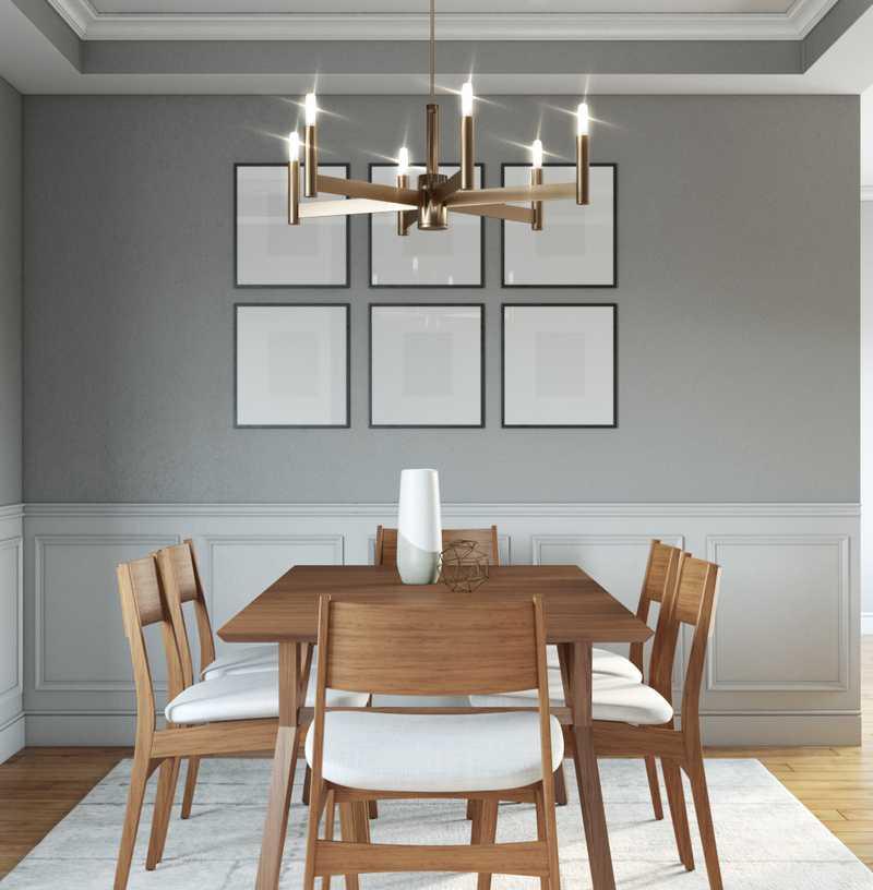 Modern, Farmhouse Dining Room Design by Havenly Interior Designer Jessie
