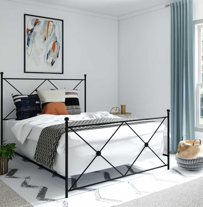 Contemporary, Modern, Glam Bedroom Design by Havenly Interior Designer Apoovra