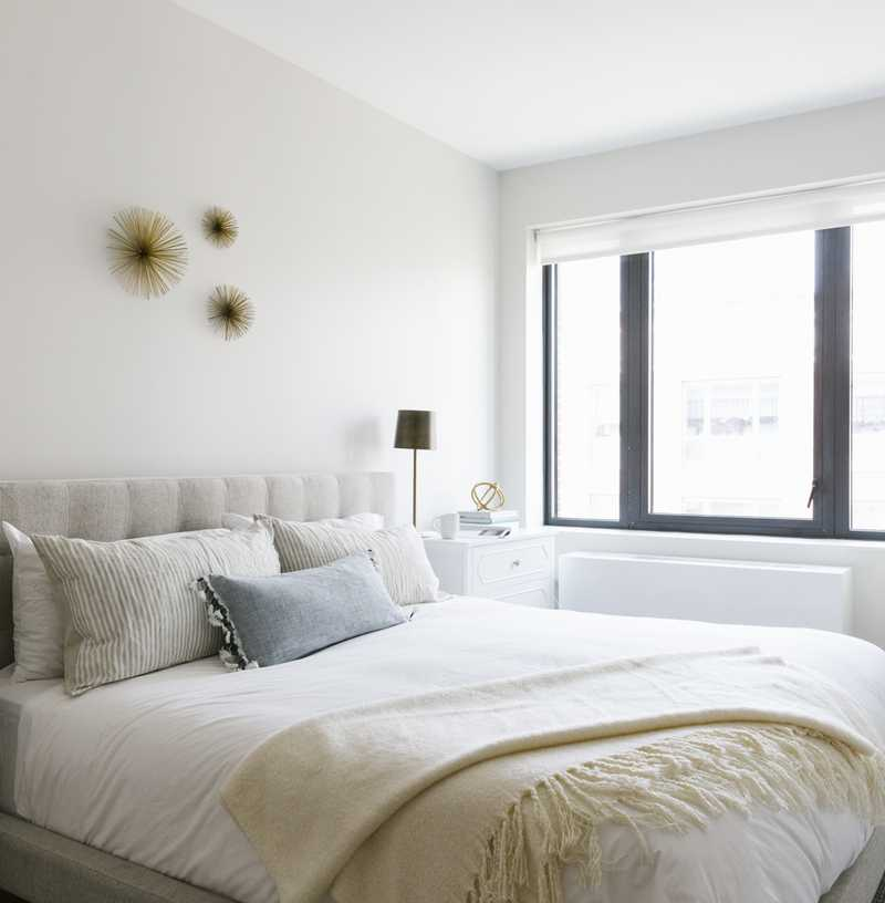 Modern, Minimal, Scandinavian Bedroom Design by Havenly Interior Designer Stafford